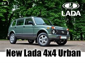 NEW Lada 4x4 Urban, Transportmitteln (reinigung - Hubstapler etc)
