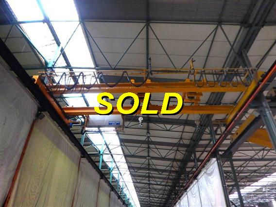 Timmers 3,2 + 3,2 ton x 8402 mm, Conveyors, Overhead Travelling Crane, Jig Cranes