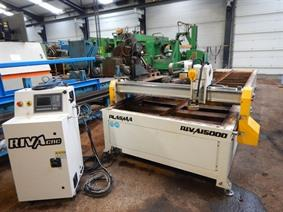 Riva 6000 x 1500 mm CNC, Gas cuttingmachines (gas + plasma)