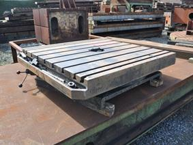 Turntable 1250 x 1250 mm, Rotary tables