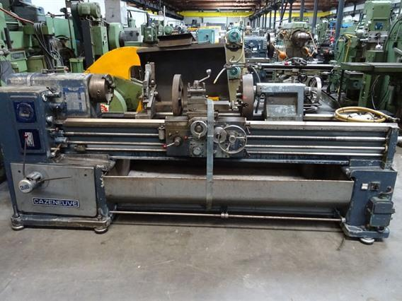 Cazeneuve HB 575 x 2000 mm, Centre lathes