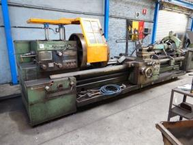 Tos SUS 80 Ø 840 x 3500 mm, Centre lathes