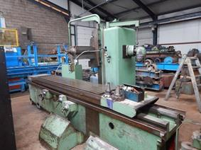 Graffenstaden X: 2500 - Y: 630 - Z: 1000mm, Bed milling machines with moving table & CNC