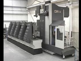 MTE FBF 6000 X: 6000 - Y: 1200 - Z: 1500 mm, Bed milling machine with moving column & CNC