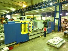 Kiheung U1000 X: 4500 - Y: 1250 - Z: 1600mm CNC, Bed milling machines with moving table & CNC