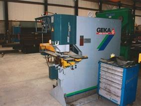 Geka Puma 110 ton CNC, Stamping & punching press thin metalsheet