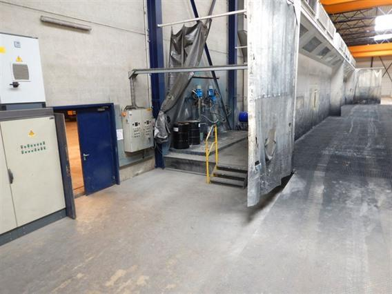 Belmeco Paint Booth, 30 meter long