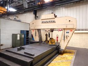 Comessa Mobile straightening press 220 ton , Garage press machines