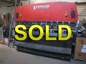 Amada Promecam RG 75 ton x 2550 mm, Hydraulic press brakes