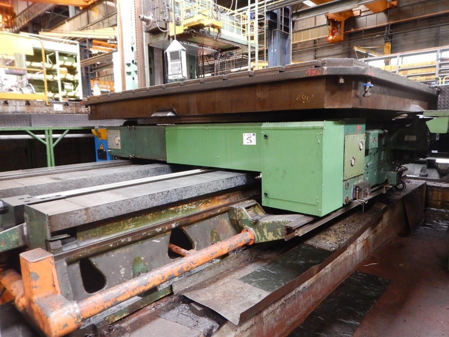 Innocenti CNC Turntable, 4250 x 4250 mm - 130 ton   Rotary