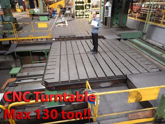 Innocenti CNC Turntable, 4250 x 4250 mm 130 ton, Rotary tables