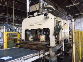 Siempelkamp panel press 470 ton, Presses a 4  colonnes a action simple
