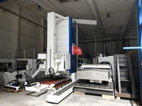 Colgar Fral 30 X: 6000 - Y: 3000 - Z: 1000 mm CNC, Foratrici a montante mobile