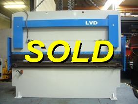 LVD PPBL 135 ton x 3100 mm, Hydraulic press brakes