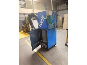 Donaldson Torit VS 1500 dust collector, Lasposten & Lastransformatoren