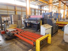 Amada ATF-2023 auto shearing system, Hydraulic guillotine shears