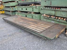 T-slot Table 4090 x 1500 mm, Tables & Floorplates
