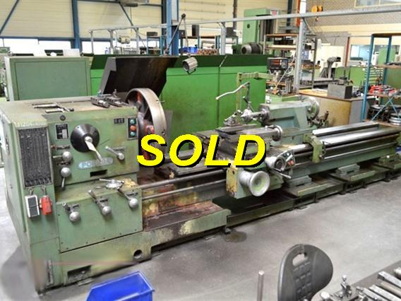 Poreba TPK Ø 800 x 3300 mm, Centre lathes