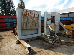 ZM Manipulators 10 + 10 ton, Turning gears - Positioners - Welding dericks & -pinchtables