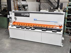 LVD HST-C 3100 x 13 mm CNC, Hydraulic guillotine shears