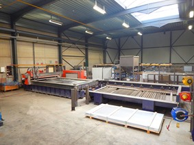 Bystronic Byjet 4022, Waterjet cutting systems