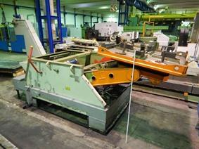 Silvestrini welding positioner 12,5 ton, Turning gears - Positioners - Welding dericks & -pinchtables