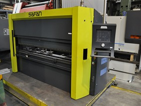 Safan E-brake 50 ton x 2550 mm CNC, Hydraulic press brakes