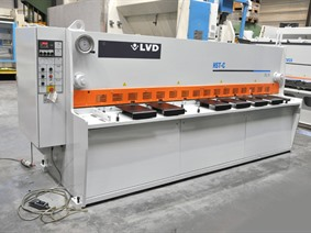 LVD HST-C 3100 x 6 mm CNC, Hydraulic guillotine shears
