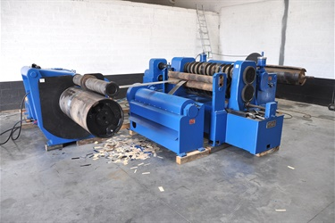 Decoiling & Slitting line sold to customer in Africa