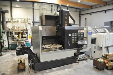 Vertical CNC lathe sold to Dutch customer