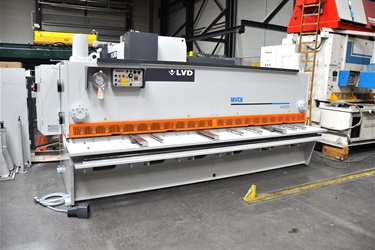 LVD shear sold to English customer