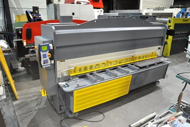 Haco shear sold to Dutch customer