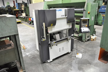 LVD pressbrake sold to customer in Greece