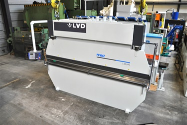 LVD pressbrake sold to Belgian customer