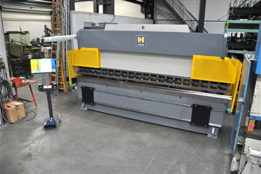 Haco CNC pressbrake sold to Belgian customer