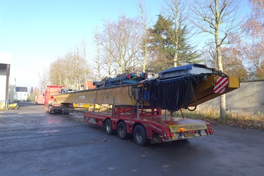 Overhead travelling crane sold to Belgian customer