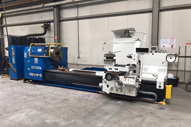 Tos Sul 125 conventional lathe fully reconditionned for Belgian customer
